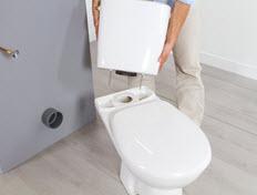 poser un wc