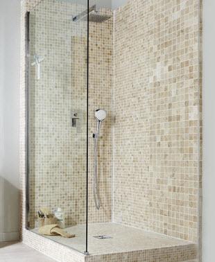 Douche italienne paris 78 92 93 94 travaux salle de bain for Porte de douche italienne