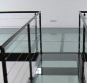 mezzanine-verre construction en verre