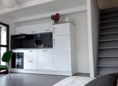 ancien garage nouveau séjour/cuisine