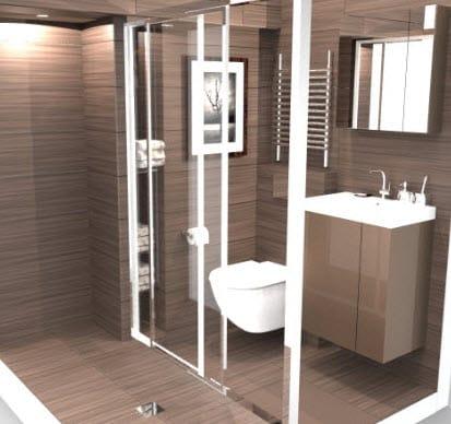 salle de bain sur mesure visuel 3d sdb paris19