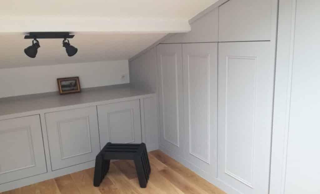 meuble sous pente - dressing sur mesure