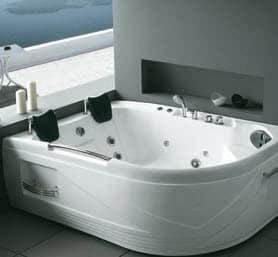 rénovation sdb : baignoire balnéo