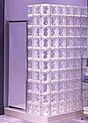 brique-verre construction en verre