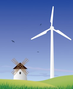 Windpower old and new