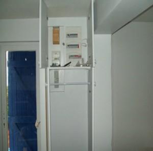 tableau-électrique rénovation d'une maison à Groix
