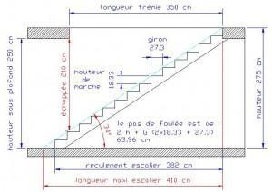 travaux d'escalier calculescalier