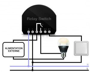 gestion domotique des éclairages continu