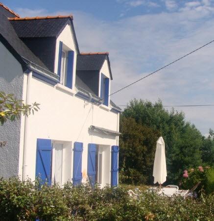 rénovation d'une maison à Groix