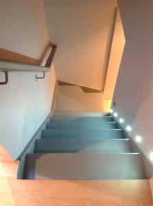 sellier-escaliercomble rénovation d'un appartement à Paris 16