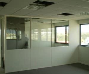 rénovation bureaux faux plafond