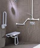 douche à l'italienne handicapée