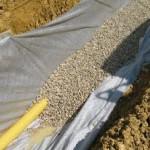 gravier drainage maison