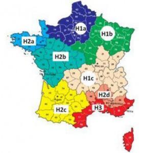 rt2012 coefficient geographique