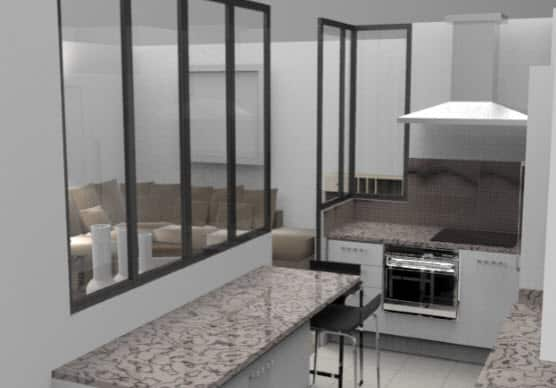 r novation cuisine 92 cr ation am nagement dans les hauts de seine. Black Bedroom Furniture Sets. Home Design Ideas