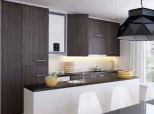 chauffe eau lectrique plat id al gain de place petits espaces. Black Bedroom Furniture Sets. Home Design Ideas