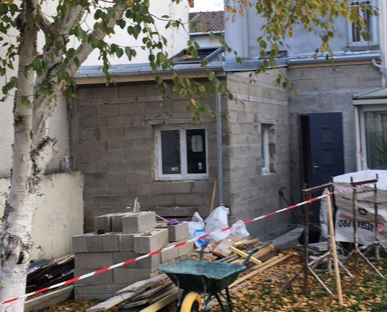 extension maison - projet Drancy