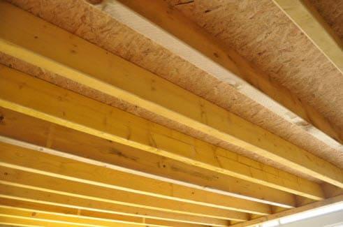 plancher mezzanine dalles OSB
